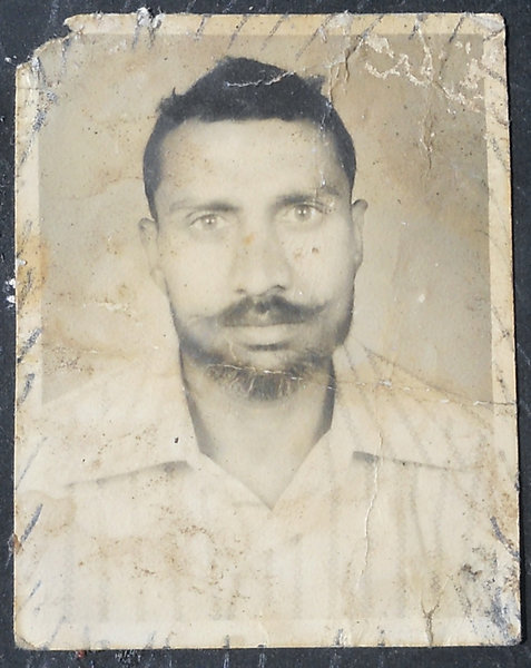 Photo of Hira Singh, victim of extrajudicial execution on July 10, 1982, in Kapurthala, by Punjab Police