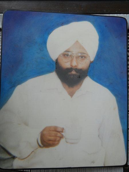 Photo of Balwant Singh Multani, victim of extrajudicial execution on December 18, 1991, in Chandigarh
