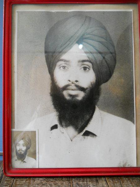 Photo of Ranjit Singh, victim of extrajudicial execution between November 1, 1990 and December 31,  1990, in Sangrur, by Punjab Police
