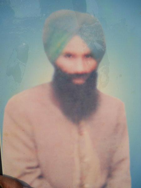 Photo of Pyara Singh, victim of extrajudicial execution on June 6, 1984Army
