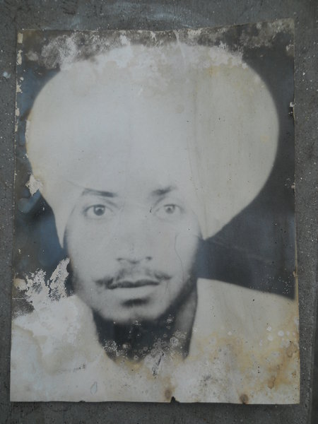 Photo of Mangal Singh, victim of extrajudicial execution between March 1, 1988 and July 30,  1988Punjab Police