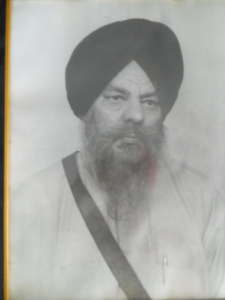 Photo of Sakater Singh, victim of extrajudicial execution on May 10, 1990Black cat