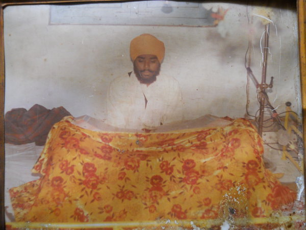 Photo of Harmesh Singh, victim of extrajudicial execution between June 1, 1992 and July 30,  1992, in Dehlon, Ludhiana,  by Punjab Police; Central Reserve Police ForcePunjab Police