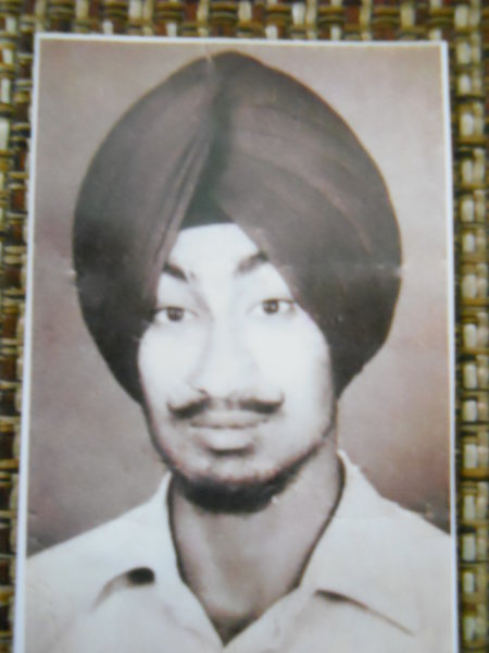 Photo of Jasdev Singh, victim of extrajudicial execution on June 06, 1984Central Reserve Police Force