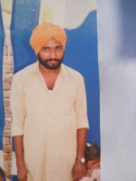 Photo of Chamkaur Singh,  disappeared on May 03, 1993, in Jagraon CIA Staff,  by Punjab Police
