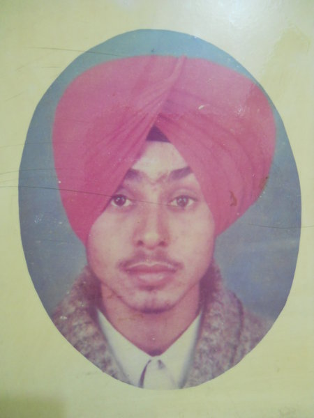 Photo of Kuldeep Singh,  disappeared on June 13, 1992, in Ludhiana, Ludhiana CIA Staff,  by Punjab Police; Central Reserve Police Force; Criminal Investigation Agency