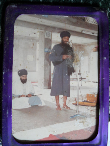 Photo of Kuljit Singh, victim of extrajudicial execution between November 5, 1991 and November 7,  1991, in S.A.S. Nagar (Mohali),  by Black cat, in Payal, by Punjab Police