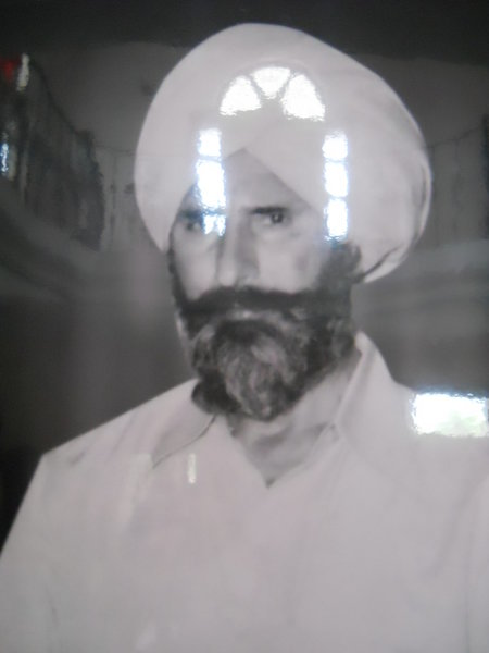 Photo of Ujagar Singh, victim of extrajudicial execution on April 4, 1983Punjab Police