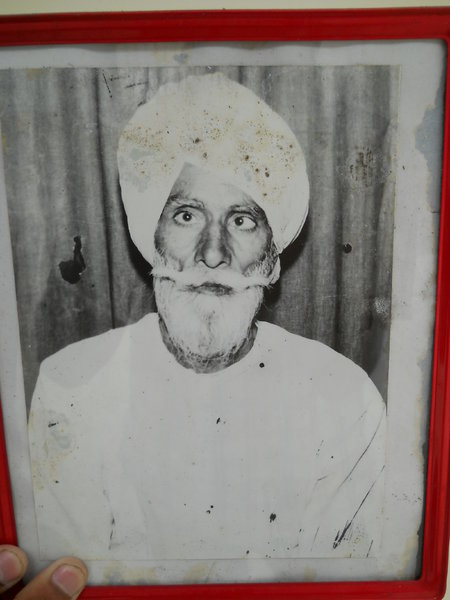 Photo of Jagir Singh, victim of extrajudicial execution between April 8, 1983 and April 9,  1983, in Malerkotla, by Punjab Police
