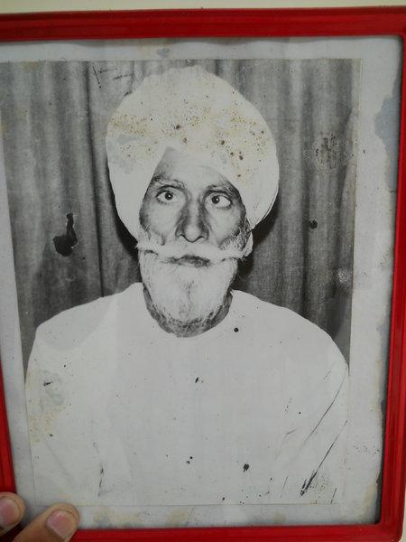 Photo of Jagir Singh, victim of extrajudicial execution between April 8, 1983 and April 9,  1983, in Malerkotla, by Punjab Police