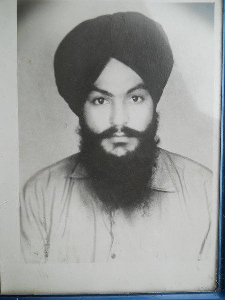 Photo of Sadhu Singh, victim of extrajudicial execution on January 06, 1991, in Khanna, by Punjab Police