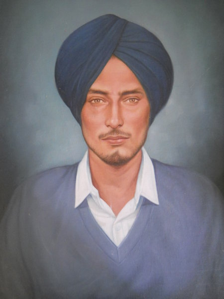 Photo of Halminder Singh, victim of extrajudicial execution on October 14, 1985, in Sherpur, by Punjab Police