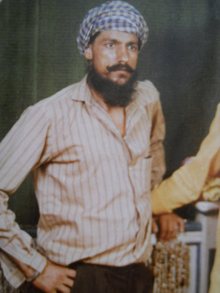 Photo of Gurbaksh Singh, victim of extrajudicial execution on June 26, 1993, in Jagraon, by Punjab Police