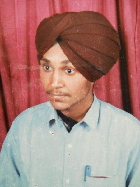 Photo of Davinder Singh, victim of extrajudicial execution between July 15, 1989 and July 16,  1989Punjab Police