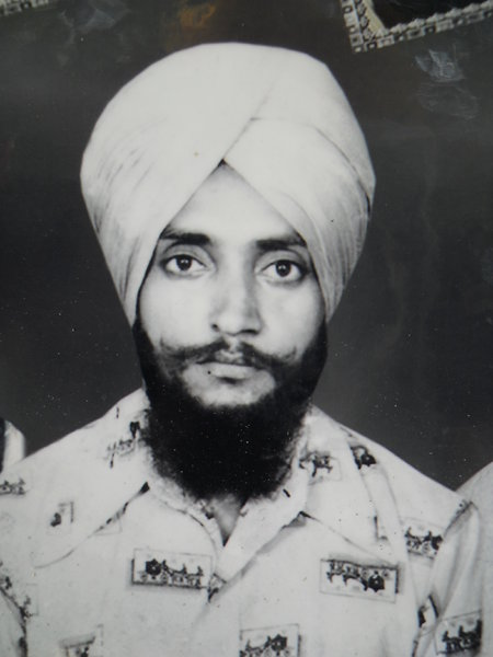 Photo of Surjit Singh, victim of extrajudicial execution on March 15, 1993, in Raikot, by Punjab Police