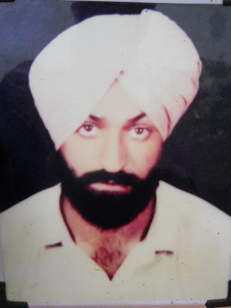 Photo of Jagjit Singh, victim of extrajudicial execution on November 03, 1993, in Jagraon CIA Staff, Jagraon, by Punjab Police; Criminal Investigation Agency
