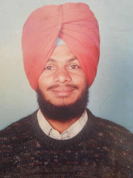 Photo of Amarjit Singh, victim of extrajudicial execution on March 11, 1992, in Jagraon,  by Punjab Police; Central Reserve Police Force, in Jagraon CIA Staff, by Punjab Police