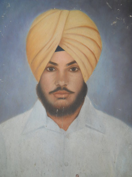 Photo of Pawandeep Singh, victim of extrajudicial execution on March 29, 1993, in Jagraon, Mullanpur Dakha, Dehlon, Sudhar, Ludhiana, by Punjab Police; Central Reserve Police Force