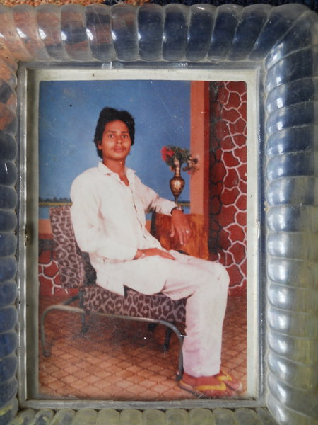 Photo of Bhupinder Singh, victim of extrajudicial execution on October 28, 1991, in Payal, by Punjab Police