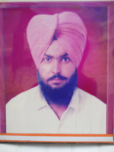 Photo of Kulwant Singh,  disappeared on March 11, 1991, in Dehlon, Ludhiana,  by Punjab Police; Central Reserve Police Force