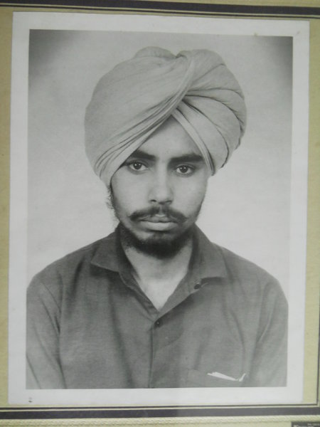 Photo of Hardeep Singh, victim of extrajudicial execution on January 06, 1991, in Khanna, by Punjab Police