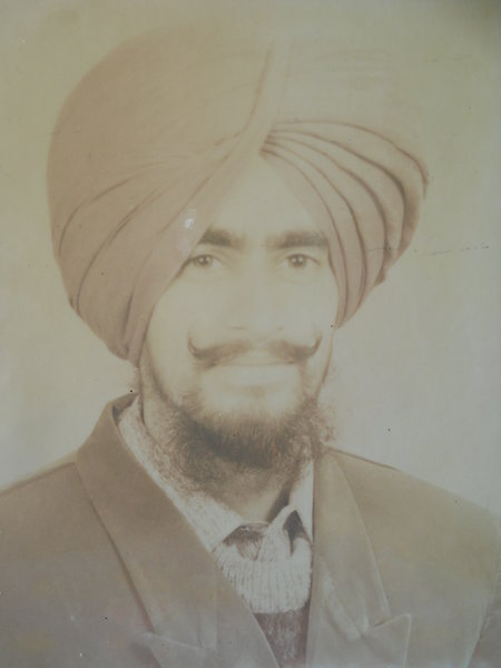 Photo of Baljinder Singh, victim of extrajudicial execution on June 06, 1991, in Sangrur, by Punjab Police; Central Reserve Police Force