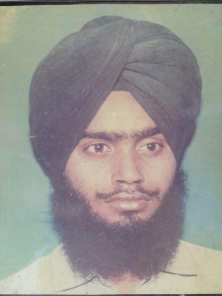 Photo of Sukhwinder Singh,  disappeared on June 08, 1990 by Punjab Police