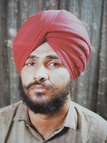 Photo of Gurmeet Singh, victim of extrajudicial execution on June 06, 1991, in Ahmedgarh,  by Punjab Police; Central Reserve Police Force, in Ahmedgarh, by Punjab Police