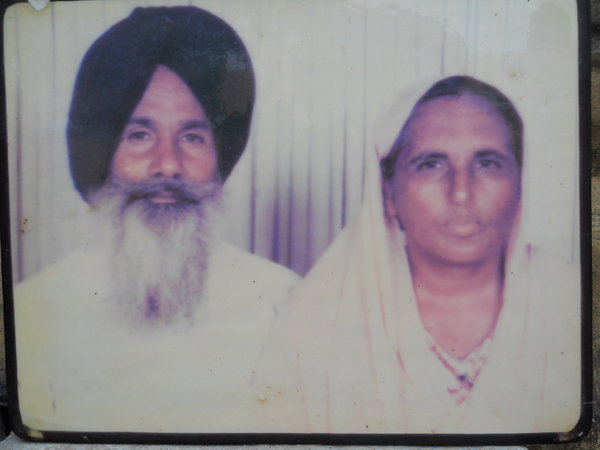 Photo of Harbhajan Kaur, victim of extrajudicial execution between June 1, 1992 and July 31,  1992, in Jagraon,  by Punjab Police; Central Reserve Police Force, in Jagraon, by Punjab Police