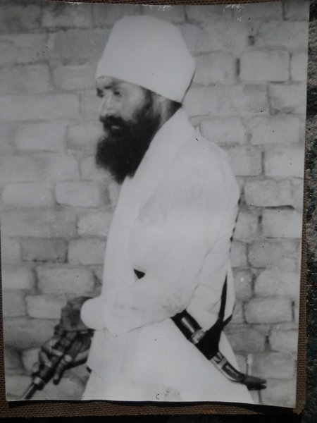Photo of Gian Singh, victim of extrajudicial execution on February 28, 1993, in Jagraon, by Punjab Police; Central Reserve Police Force