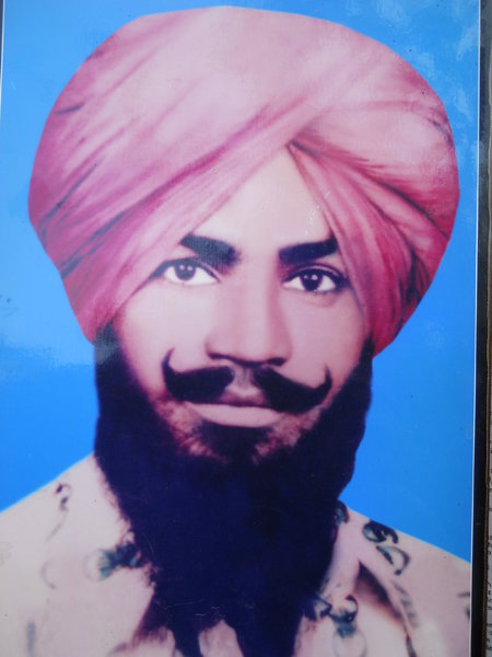 Photo of Darshan Singh, victim of extrajudicial execution between April 15, 1988 and April 16,  1988, in Ludhiana, by Punjab Police