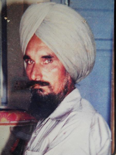 Photo of Satnam Singh, victim of extrajudicial execution between September 1, 1991 and September 30,  1991Punjab Police