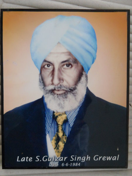 Photo of Guljar Singh, victim of extrajudicial execution on June 06, 1984, in Jagraon, by Punjab Police; Central Reserve Police Force