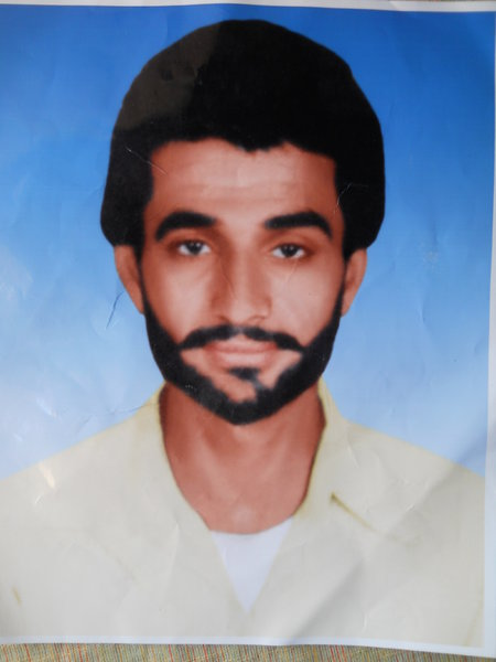 Photo of Balwinder Singh, victim of extrajudicial execution on June 06, 1984, in Jagraon, by Punjab Police; Central Reserve Police Force
