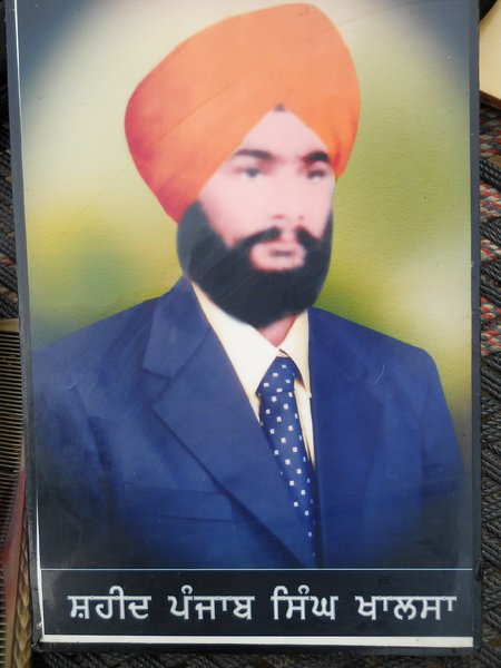 Photo of Punjab Singh, victim of extrajudicial execution on September 02, 1991, in Ludhiana, by Punjab Police