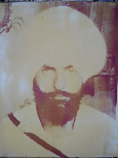 Photo of Darshan Singh, victim of extrajudicial execution between December 3, 1987 and December 4,  1987, in Dharamkot, by Punjab Police