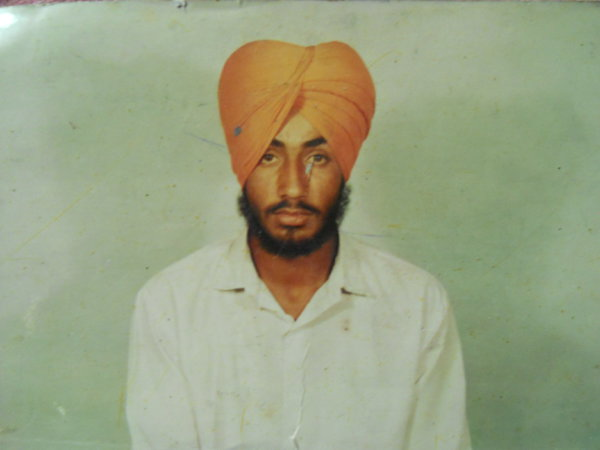 Photo of Satwinder Singh,  disappeared on April 12, 1993, in Hambran,  by Punjab Police