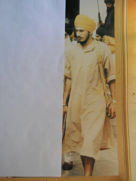Photo of Sarvan Singh, victim of extrajudicial execution between April 1, 1989 and April 30,  1989, in Ladda Kothi, by Punjab Police