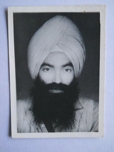 Photo of Swaran Singh, victim of extrajudicial execution on July 22, 1993, in Payal, by Punjab Police