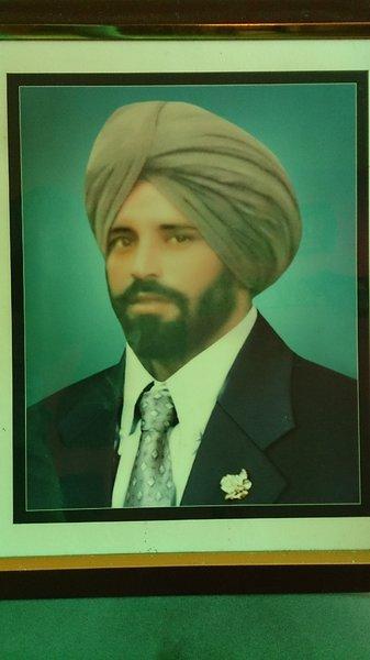 Photo of Guljar Singh, victim of extrajudicial execution on September 01, 1989, in Samrala, by Punjab Police