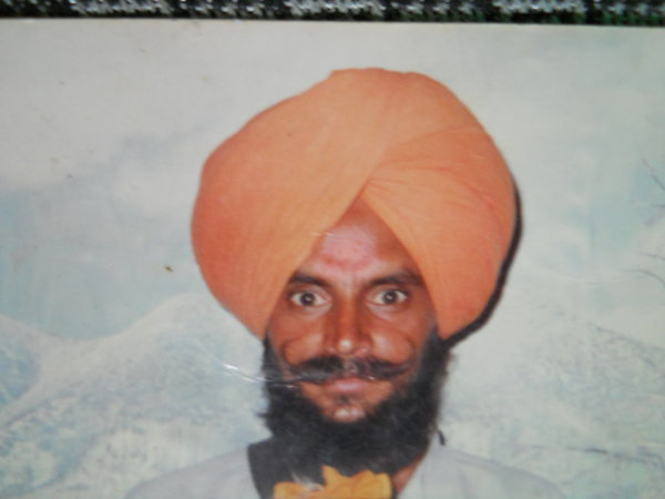 Photo of Ujagar Singh, victim of extrajudicial execution on October 07, 1993, in Raikot, Jagraon, by Punjab Police