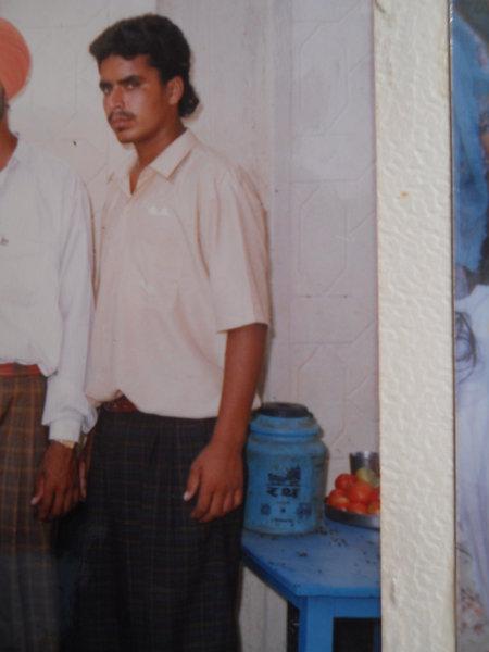 Photo of Sukhwinder Singh, victim of extrajudicial execution between December 1, 1993 and December 31,  1993Punjab Police