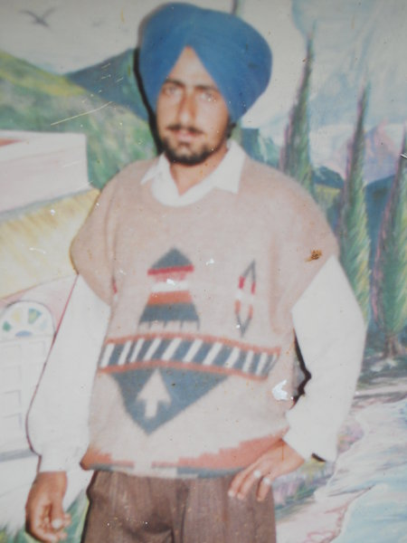 Photo of Manjinder Singh,  disappeared on August 13, 1993, in Sahnewal,  by Punjab Police