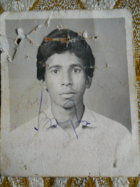 Photo of Lakhvir Singh, victim of extrajudicial execution on January 03, 1993, in Raikot,  by Punjab Police; Central Reserve Police ForceUnknown type of security forces