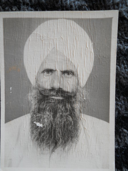 Photo of Ranjit Singh, victim of extrajudicial execution on October 03, 1991, in Dehlon, by Punjab Police