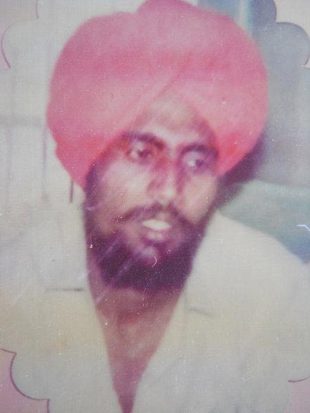 Photo of Atma Singh, victim of extrajudicial execution between May 14, 1993 and May 15,  1993, in Badhni Kalan, by Punjab Police