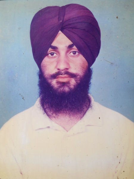 Photo of Harbans Singh, victim of extrajudicial execution on March 03, 1993, in Mann, Jagraon, by Punjab Police