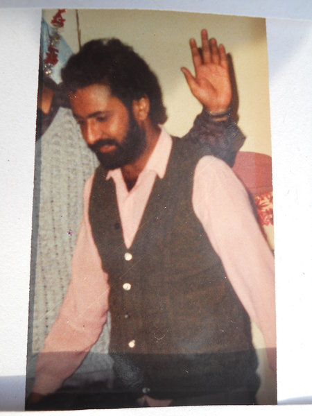 Photo of Gurdeep Singh, victim of extrajudicial execution on October 08, 1993, in Jagraon CIA Staff, Mann,  by Punjab Police; Criminal Investigation Agency, in Jagraon CIA Staff, Mann, by Punjab Police; Criminal Investigation Agency