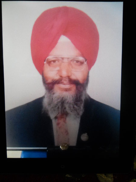 Photo of Ajmer Singh, victim of extrajudicial execution, date unknown, in Malerkotla,  by Criminal Investigation Agency, in Malerkotla, by Criminal Investigation Agency