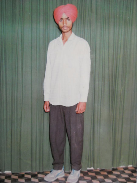 Photo of Randhir Singh, victim of extrajudicial execution on December 31, 1992, in Jagraon, by Punjab Police